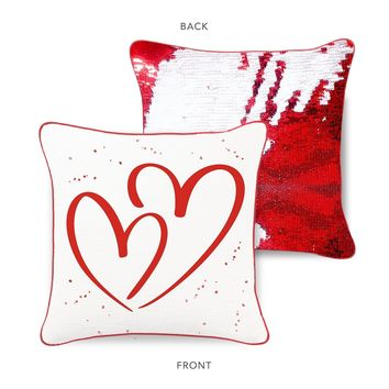 American Heart Association LOVE Mermaid Pillow