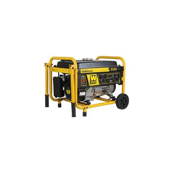 WEN 4,750 Watt Gasoline Generator with Wheel Kit