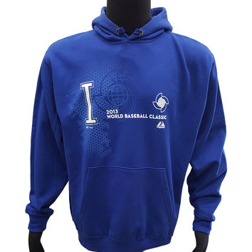 Majestic Italy 2013 World Baseball Classic Pullover Hoodie