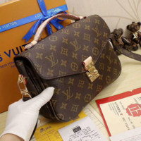 LV Women Shopping Leather Crossbody Satchel Shoulder Bag G-LLBPFSH