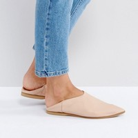 Selected Alea Pointy Leather Slipper at asos.com