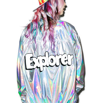 Cool Shit Explorer Jacket Hologram One