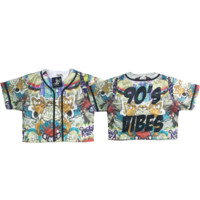 90s Vibes Rugrats CROP Jersey