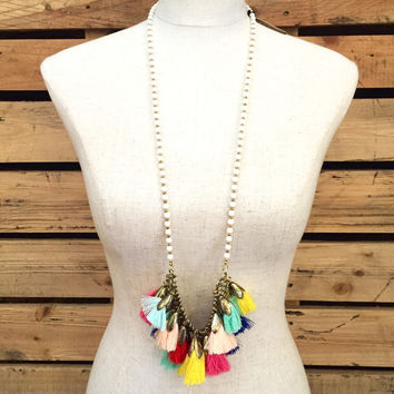 Betsy Pittard Designs- Rach Necklace- White