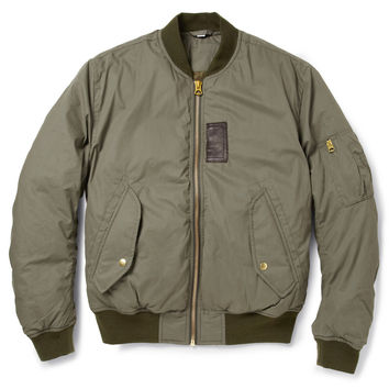 Acne Sid Down-Filled Cotton-Blend Bomber Jacket | MR PORTER