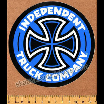 Independent Truck Company Skateboard Sticker - Blue