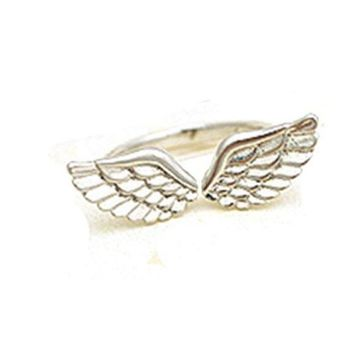 Small Angel Wings Finger Rings For Women