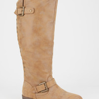 Madden Girl Cacctus Womens Boots Cognac  In Sizes
