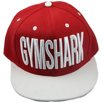 GymShark Loudmouth Snapback - Red/White | GymShark International | Innovation In Fitness Wear