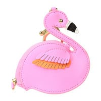 Lilly Pulitzer Flamingo Coin Case