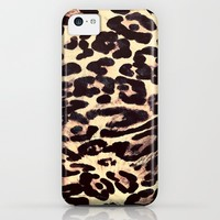 Leopard Print iPhone & iPod Case by Charlene McCoy