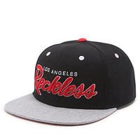 Young and Reckless OG Reckless Script Snapback Hat at PacSun.com