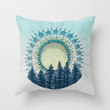Enlightened Soul Throw Pillow by rskinner1122