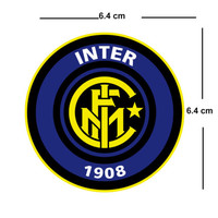 Inter Milan Team Crest Iron on Screen Print fabric Machine Washable transfer | eBay