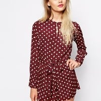 The Laden Showroom X Paisie Polka Dot Playsuit