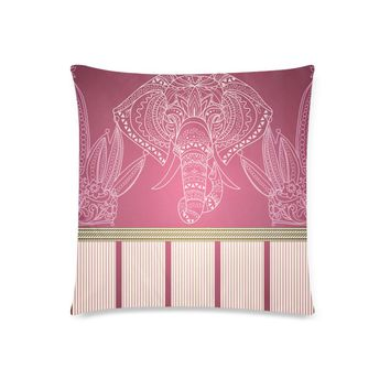 """African Elephant Pillow Covers Set of 2 Covers 18""""x 18"""""""