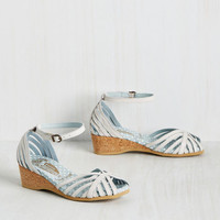Hit the Dock Heel in White | Mod Retro Vintage Heels | ModCloth.com