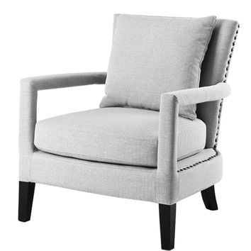 Gray Lounge Chair | Eichholtz Gregory
