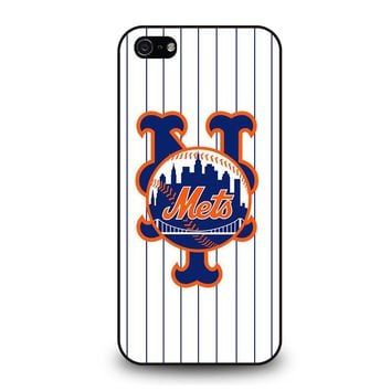 NEW YORK METS BASEBALL iPhone 5 / 5S / SE Case Cover