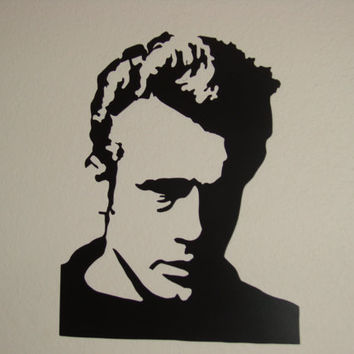 Classic James Dean 16 Gauge CNC Plasma Cut Metal Wall Art