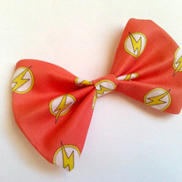 The Flash Small Hair Bow