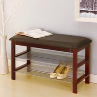 SHOE RACK WITH BENCH   Get Organized