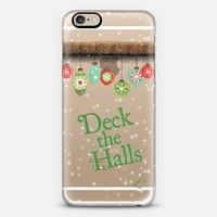 Holidays Deck The Halls iPhone 6s case by Love Lunch Liftoff | Casetify