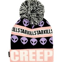 Creep Pom Pom Beanie - Clothing