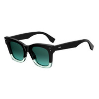 Fendi Two-Tone Acetate Cat-Eye Sunglasses