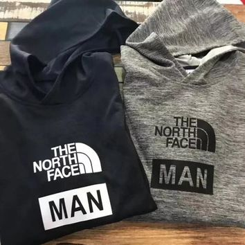The North Face Fashion Hooded Long Sleeves Tops Sweater Sweatshirt