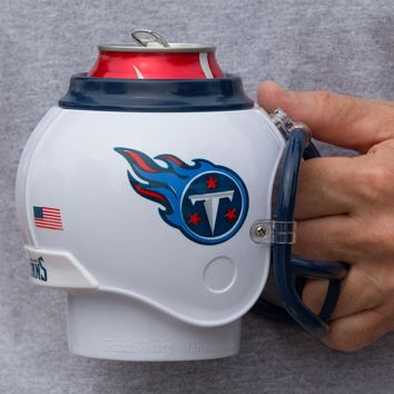 Tennessee Titans All in One Helmet Can & Bottle Cooler, Mug and Desk Caddy