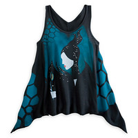 Maleficent Draped Tank Tunic for Women