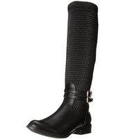 Luichiny Pre Vail Black Stretch Knee High Riding Boot