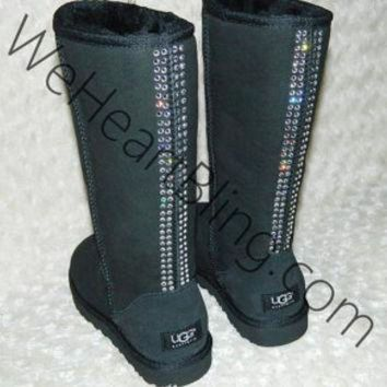DCCK8X2 100% Genuine Swarovski Crystal UGG Boots All Sizes Available