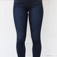 The 'Sarah' Blue Jean Skinnies