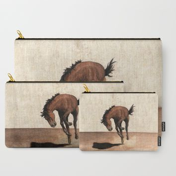 Wild horse Carry-All Pouch by Savousepate