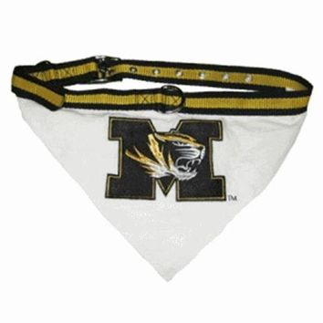 ESBONI Missouri Tigers Dog Collar Bandana
