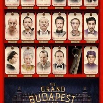 """Grand Budapest Hotel Movie Poster 16""""x24"""" Poster 16inx24in"""
