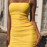 Buy Our Sunrise Dress in Yellow Online Today! - Tiger Mist