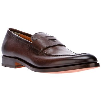 Santoni Slip-On Loafer
