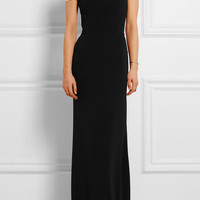 Roland Mouret - Lamble off-the-shoulder stretch-crepe gown