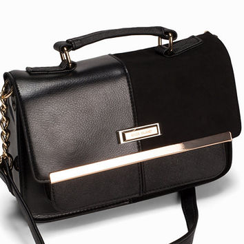 Branded Satchel, River Island