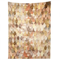 Monika Strigel Really Mermaid Gold Tapestry