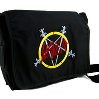 Slayer Reign in Blood School Messenger Bag Death Heavy Metal