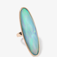 Iridescent Oblong Ring
