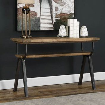 Uttermost Domini Industrial Console Table On SALE