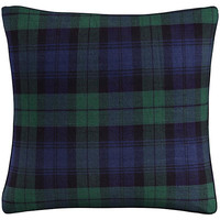 Union 20x20 Pillow, Navy Plaid - Pillows & Throws - Holiday Decor - Holiday   One Kings Lane