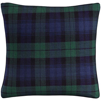 Union 20x20 Pillow, Navy Plaid - Pillows & Throws - Holiday Decor - Holiday | One Kings Lane