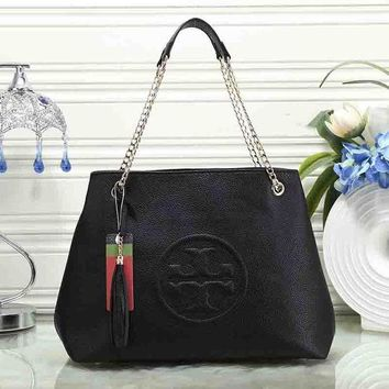 Tory Burch women's fashion leather shoulder bag F