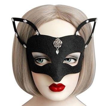Sexy Eye Face Mask Cat Woman Masquerade Cosplay Party Or Halloween
